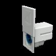 Betáp aljzat, Cara-Contact, beépíthető, fehér, 230V, CEE, Mennekes