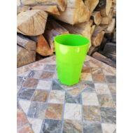 Polikarbonát pohár, neon zöld, 400 ml