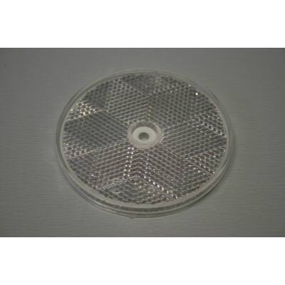 Prizma fehér, kerek, 80mm, csavarozható