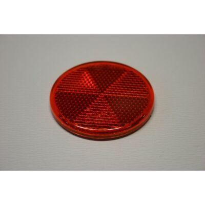 Prizma piros, kerek, 60mm, öntapadó