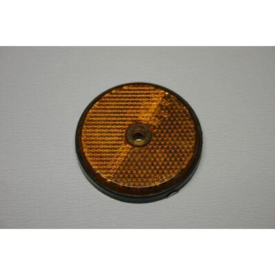 Prizma sárga, kerek, 60mm, csavarozható