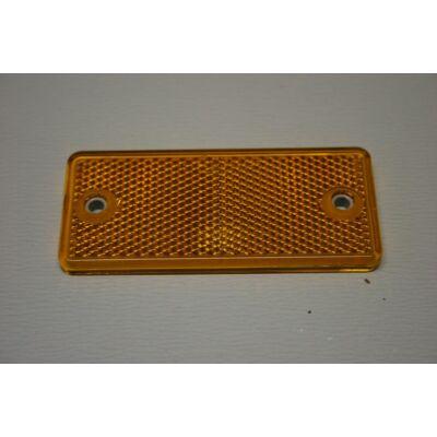 Prizma sárga, 90x40mm, csavarozható