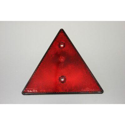 Prizma piros, 150x150mm, háromszög