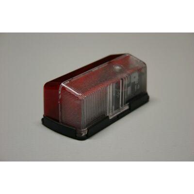 Szélességjelző piros-fehér, 90x40mm
