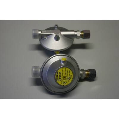 Gázreduktor, 30mbar, 1.2kg/h, angol, GDK