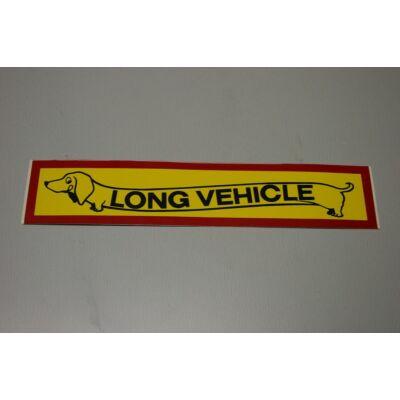 "Matrica ""Long Vehicle"""