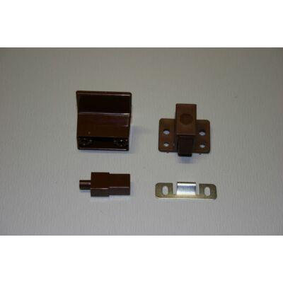 Ajtózár rugós, műanyag, 1db/csom