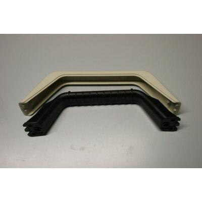 Külső fogantyú, fekete-beige, furattávolság: 180mm