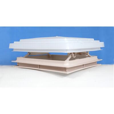 Tetőablak, szúnyoghálóval, beige, 28x28cm