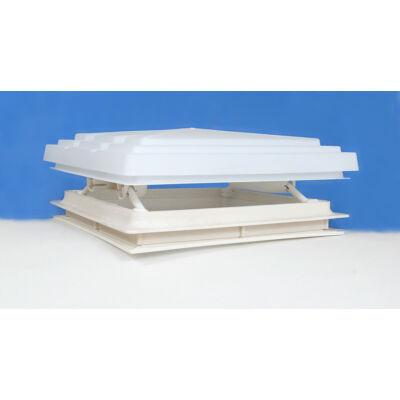 Tetőablak, szúnyoghálóval, fehér, 36x32cm
