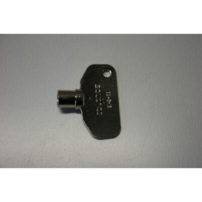 Gáztároló kulcs, Angol
