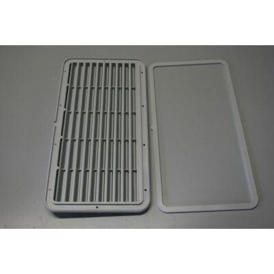 Hűtő szellőzőrács, 38.4x20.3cm, Crusader