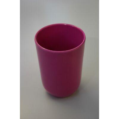 EKO bambusz pohár, pink
