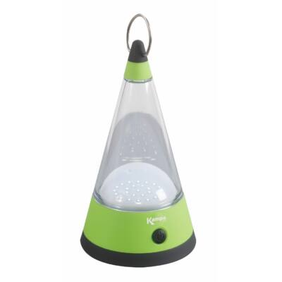 Cone camping ledlámpa, elemes, Kampa