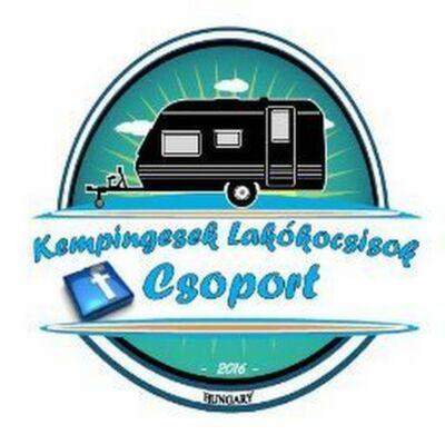 Kempingesek Lakókocsisok facebook csoport matrica KLIK
