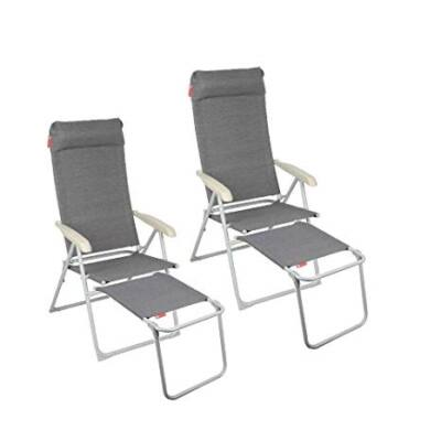 Monaco szék lábtartóval, Crusader