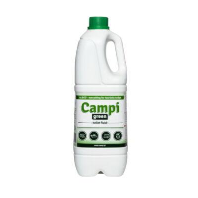 Campi Green zöld környezetbarát lebontó vegyszer, WC folyadék 2 liter, Aleco