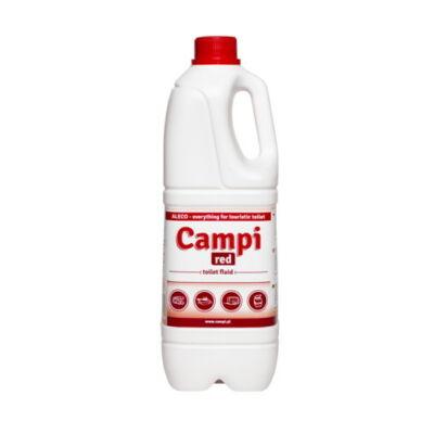 Campi Red piros öblítőfolyadék, WC folyadék 2 liter, Aleco