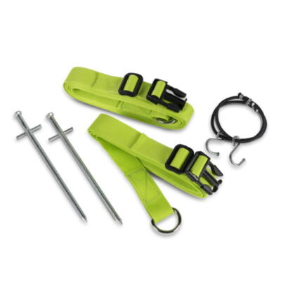 Kampa Storm Tie Down Kit viharspanifer, zöld, 2 darab, Kampa