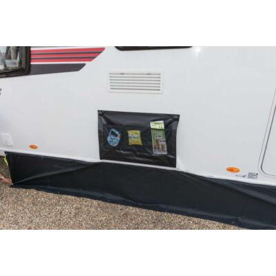 Kampa Limpet Wheel Arch Cover, kerékjárat takaró, tapadókorongos, szürke, Kampa